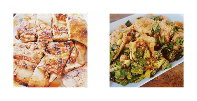อาหารแมส ไก่ย่างวิเชียร